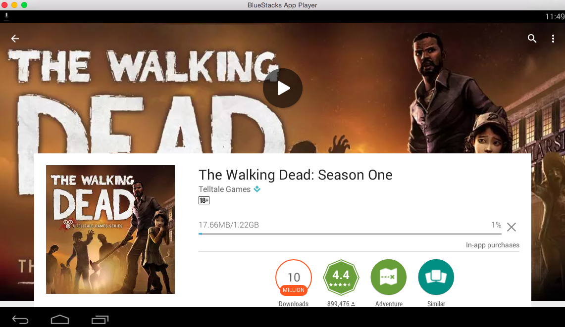 play the walking dead game online no download